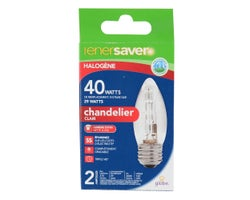 Halogen Candle Bulbs29 W (2-Pack)