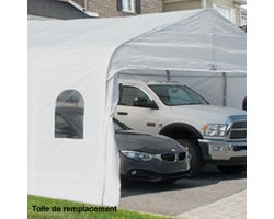 Car Shelter Replacement Cover 20ft.x20ft.