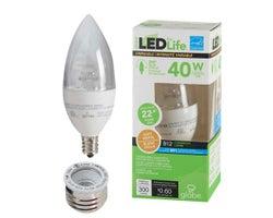 Ampoule chandelle DEL B12 Blanc doux 5 W