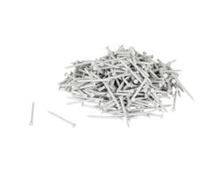 White Panel Board Nails - 1 in. (Box of 160)