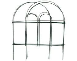 Decorative Metal Fence 8 ft. x 18 in.