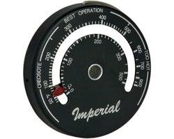 Thermomètre aimanté pour poêle