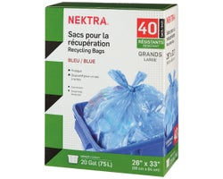 Recycling Bags (40-Pack)