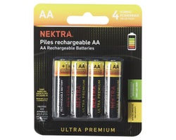 Ultra Premium Rechargeable Batteries AA (4-Pack)