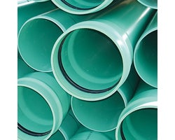 Storm Sewer Pipe , SDR-35 (green) , 6 in. x 14 ft.