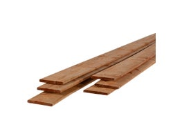 Brown Treated Lumber 1 in. x 6 in. x 10 ft.