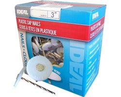 Insulation Plastic Cap Nails 3 in. , (2000-Pack)