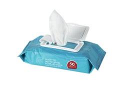 Lingettes nettoyantes pour les mains (Paquetde50)