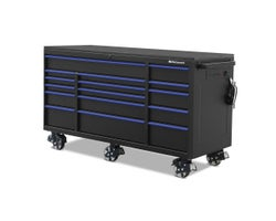 16-Drawer Tool Cabinet (Bottom Section) 72 in. x 30 in.