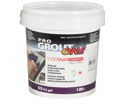 Coulis Pro Grout ONE 1,89 L Blanc arctique