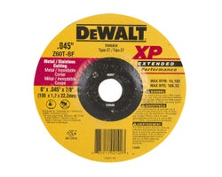 XP Grinder Cutting Wheel , 6 in.