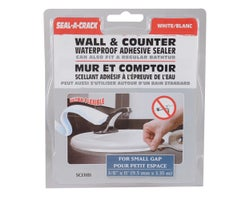 Wall and Counter Adhesive Sealer - 3/8 in. x 11 ft.