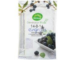 Blueberry Fertilizer & Soil Acidifier 14-8-14, 1.8 kg