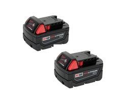 Batteries à grande capacité M18 18 V Milwaukee