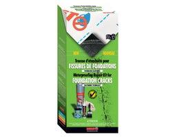 Waterproofing Repair  Kit for Foundation Cracks