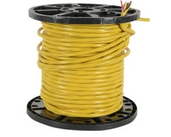 Interior Electrical Wire NMD-90, 12/3 Yellow (Bulk)