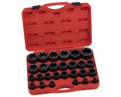 27-Piece 3/4 in. Drive Impact Socket Set
