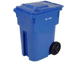 IPL Blue Wheeled Bin 360 L