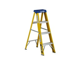 Heavy-Duty Fibreglass Stepladder 4 ft. Grade 1
