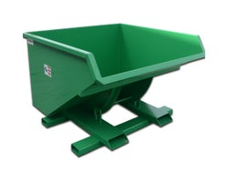 Steel Self-Dumping Hooper, 1.5 yd³ (10 GA)
