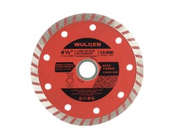 4-1/2 in. Grinder Diamond Blade, (Turbo Rim)