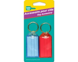Identification Keychain (2-Pack)