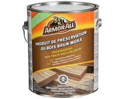 Treated Wood Preservative Mocha Brown 3.5 L