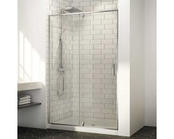 Labrador Shower Door 60 in. Chrome