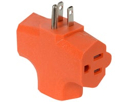 Multi-Socket Wall Adapter - 3-Outlet
