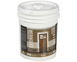Canac Low Sheen Exterior Latex Paint Natural White & Colours 18.9 L