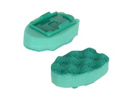 Replacement Sponges for Scrunge Dishwashing Brush (2-Pack)