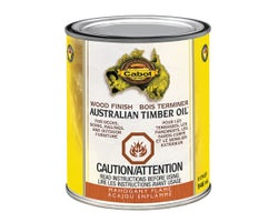 Australian Timber Oil Wood Finish Mahogany Flame 946 ml