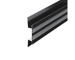 Ventilated strip for soffit, 10 ft.