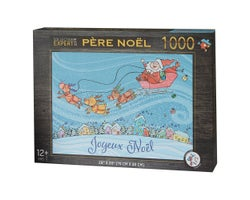 Casse-tête Père Noël (1 000 morceaux)