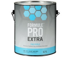 Formule Pro Extra Pearl Latex PaintNatural White & Colours 3.7 L