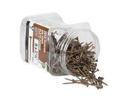 Vis à bois traité brune 2 1/2 po n° 8 T.P. boîte/350