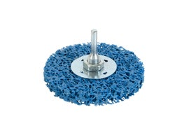 Brosse rotative plate à grains de carbure 4 po