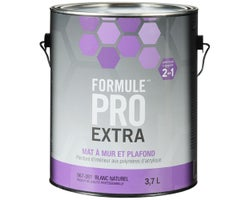Formule Pro Extra Wall & Ceiling Latex PaintNatural White & Colours 3.7 L