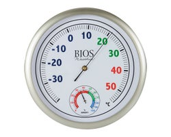 Thermometer with Hygrometer 11-3/4 in.