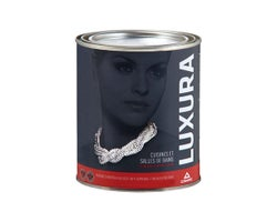 Luxura Kitchen and Bathroom Latex Paint Natural White & Colours 927 ml