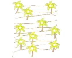 Palm Trees Light String 78 in.