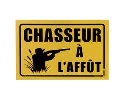 Pancarte Chasseur8 po x 12 po