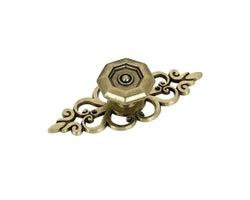 Traditional Metal Cabinet Knob - 102 mm