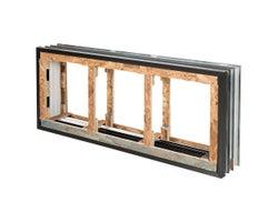 Cadre pour fenêtre de fondations 56 po x 24 po x 8 po (3 sections)