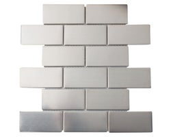 Brico Stainless Mosaic 12 in. x 12 in.