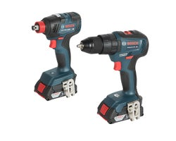 18 V Lithium-ion Brushless Hammer Drill Driver & Impact Driver Set