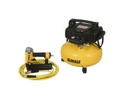 6-Gal Compressor & Brad Nailer Set