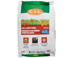 Engrais d'automne pour pelouse 12-0-18, 12 kg