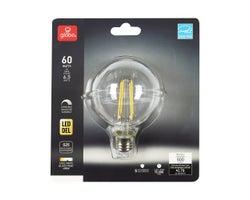G25 Cool White LED Light Bulb 6.5W