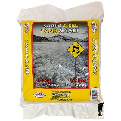 Sable et sel à déglacer 10 kg